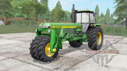 John Deere 4555-4755 trike для Farming Simulator 2017