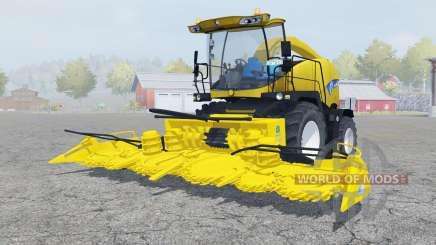 New Holland FR9050 ripe lemon для Farming Simulator 2013
