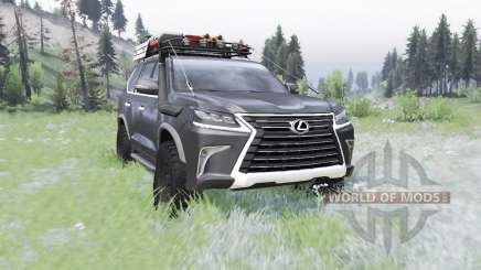 Lexus LX 570 (URJ200) 2016 off-road для Spin Tires