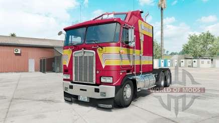 Kenworth K100E paradise pink для American Truck Simulator