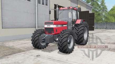 Case IH 1455 XL dual rear wheels для Farming Simulator 2017