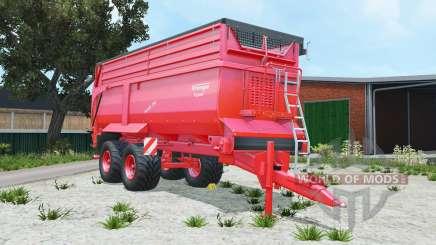 Krampe Bandit 750 pigment red для Farming Simulator 2015