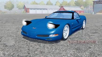 Chevrolet Corvette Z06 (C5) 2001 для Farming Simulator 2013