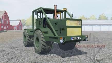 Кировец К-700А тёмно-салатовый окрас для Farming Simulator 2013