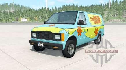 Gavril H-Series The Mystery Machine для BeamNG Drive