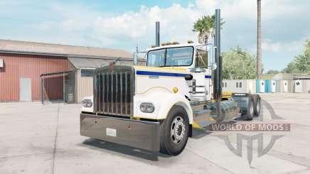 Kenworth W900A sauvignon для American Truck Simulator