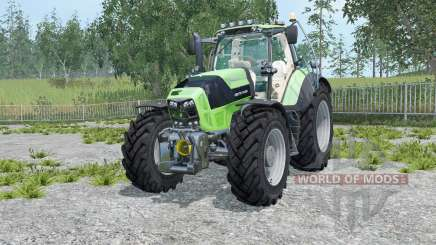 Deutz-Fahr 7210 TTV Agrotron для Farming Simulator 2015