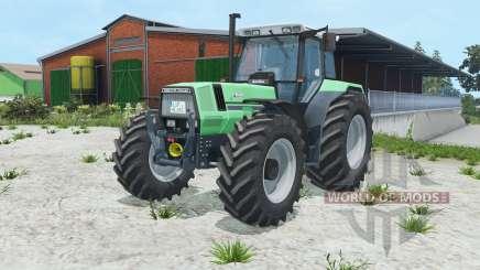 Deutz-Fahr AgroStar 6.81 caribbean green для Farming Simulator 2015
