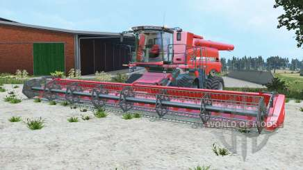 Case IH Axial-Flow 9230 deep carmine pink для Farming Simulator 2015