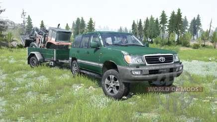 Toyota Land Cruiser 100 VX 2005 для MudRunner