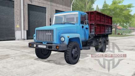 ГАЗ-САЗ-3507-01 голубой окрас для Farming Simulator 2017