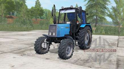 МТЗ-892 Беларус электрически-синий окрас для Farming Simulator 2017
