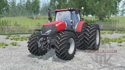 Case IH Optum 300 CVX alizarin crimson для Farming Simulator 2015