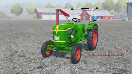 Deutz D 25 with cutter bar для Farming Simulator 2013