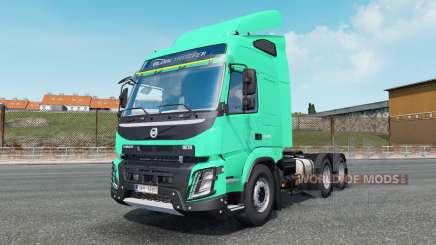 Volvo FMX 540 Globetrotter cab 2013 для Euro Truck Simulator 2