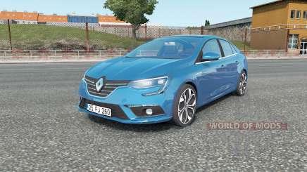 Renault Megane sedan 2017 для Euro Truck Simulator 2