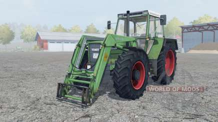 Fendt Favorit 611 LSA Turbomatik E для Farming Simulator 2013