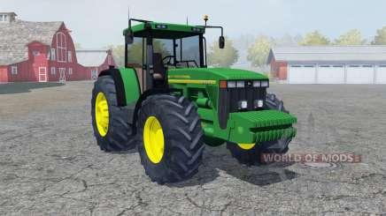 John Deere 8410 pigment green для Farming Simulator 2013
