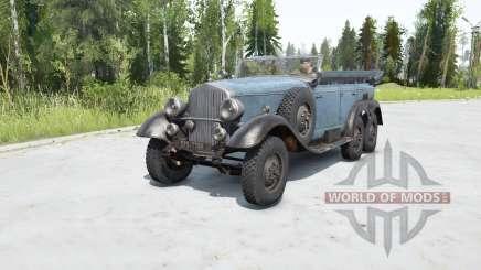 Mercedes-Beɳz G4 (W31) 1938 для MudRunner