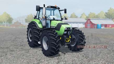 Deutz-Fahr Agrotron TTV 430 FL console для Farming Simulator 2013