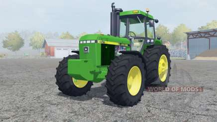 John Deere 4455 add weights для Farming Simulator 2013