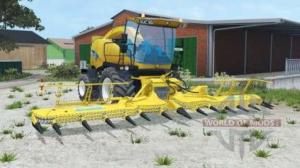 New Holland FR9090 attachments для Farming Simulator 2015