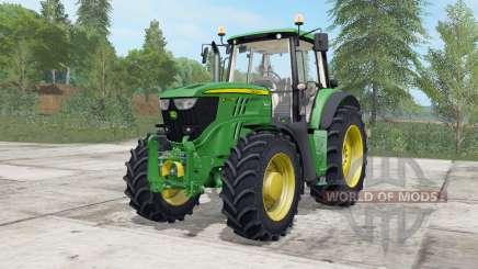 John Deere 6175M-6195M для Farming Simulator 2017