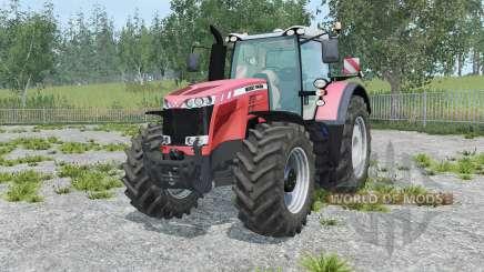 Massey Ferguson 8737 tart orange для Farming Simulator 2015