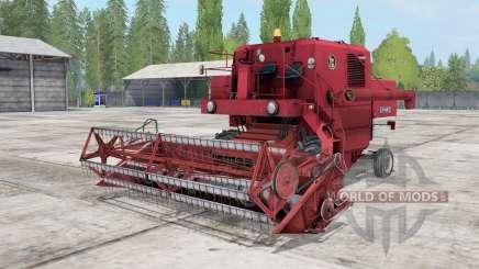 Bizon Z040 для Farming Simulator 2017