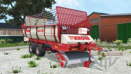 Krone Turbo 3500 alizarin crimson для Farming Simulator 2015