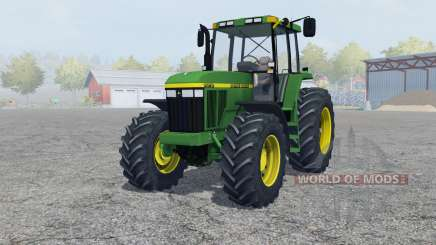 John Deere 7810 add weight для Farming Simulator 2013