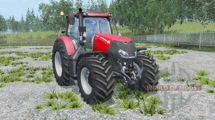 Case IH Optum 300 CVX twin wheels для Farming Simulator 2015