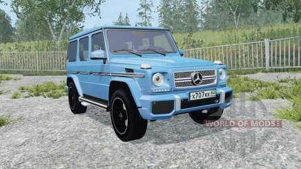 Mercedes-Benz G 65 AMG (W463) process cyan для Farming Simulator 2015