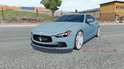 Maserati Ghibli S (M157) для Euro Truck Simulator 2
