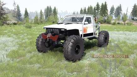 Jeep Comanche (MJ) crawler для MudRunner