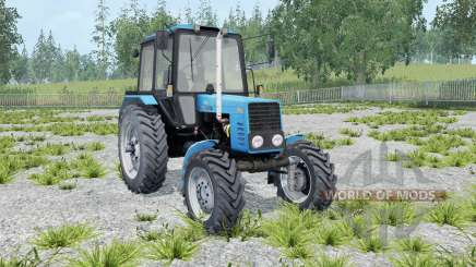 МТЗ-82.1 Беларус голубой окрас для Farming Simulator 2015