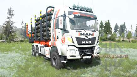 MAN TGS Girteka Logistics для MudRunner
