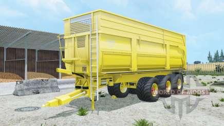 Krampe Big Body 900 S peridot для Farming Simulator 2015