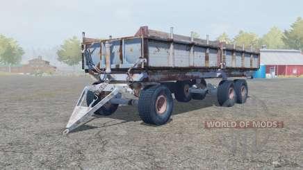 ПТС-12 серовато-синий окрас для Farming Simulator 2013