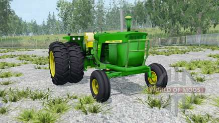 John Deere 4020 double wheels для Farming Simulator 2015