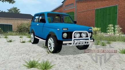 Lada Niva 4x4 (21214) для Farming Simulator 2015