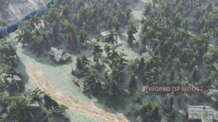 Лесной хутор для Spin Tires