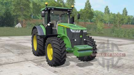 John Deere 7270R-7310R choice wheels для Farming Simulator 2017