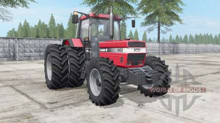 Case IH 1455 XL deep carmine pink для Farming Simulator 2017