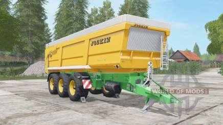 Joskin Trans-Space 8000-27 для Farming Simulator 2017