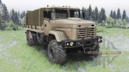 КрАЗ-5131 для Spin Tires