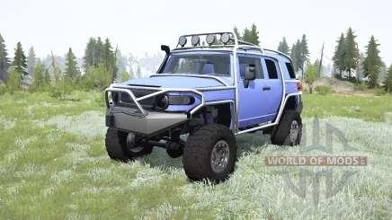 Toyota FJ Cruiser (GSJ15W) для MudRunner
