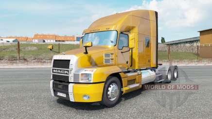 Mack Anthem Stand Up Sleeper Cab dark pear для Euro Truck Simulator 2