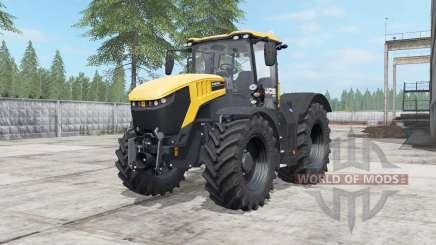 JCB Fastrac 8330 deep lemon для Farming Simulator 2017