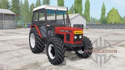 Zetor 7245 front loadᶒr для Farming Simulator 2017